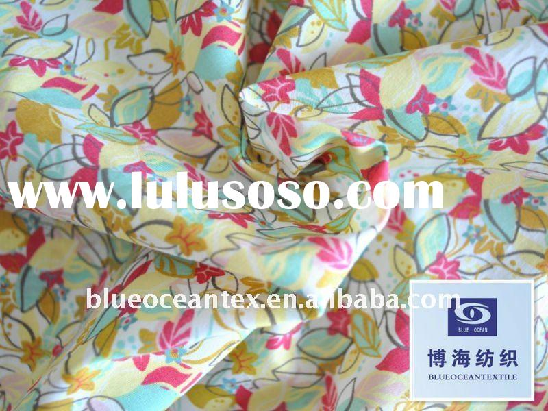 100% Cotton Printed Fabric 60X60/110X110 85GSM 2.5OZ Sheeting Fabricp Printed Cotton Fabric In Huzho