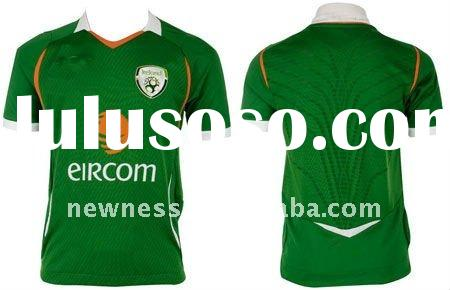 100% cotton short sleeve t-shirt printed Ireland flag
