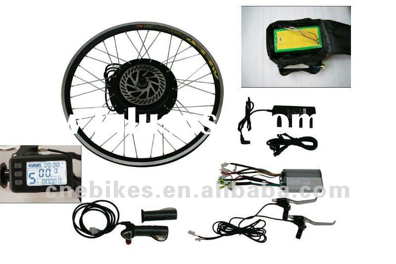 12''-28'' front or rear wheel 48v1000w electric bike kit with 48v20a