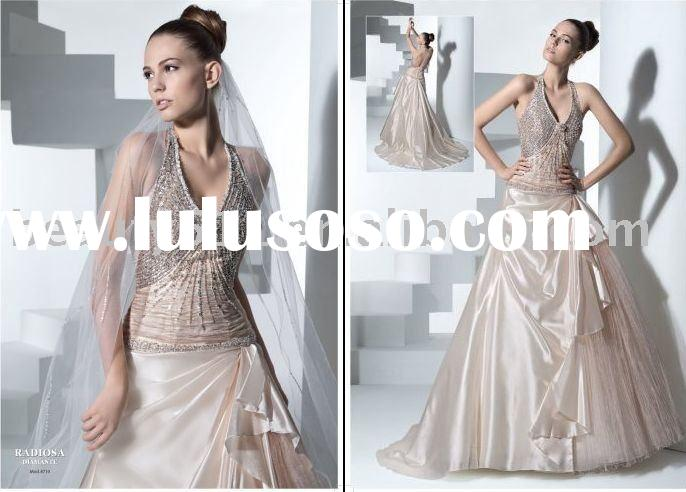 2010 New Style Unique Bridal Dress Wedding Gown CAC766