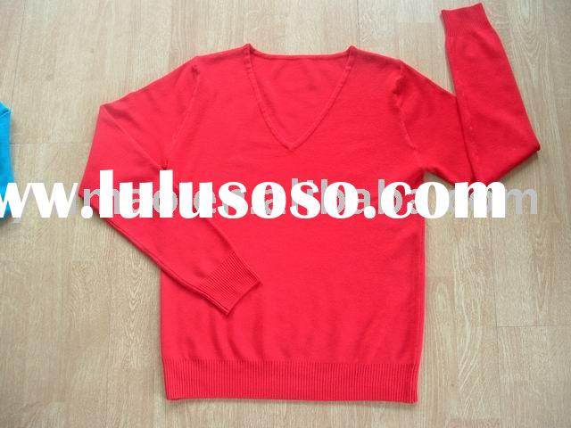 2010 SPRNG/SUMMER sweater,ladies LONG SLEEVE PULLOVER