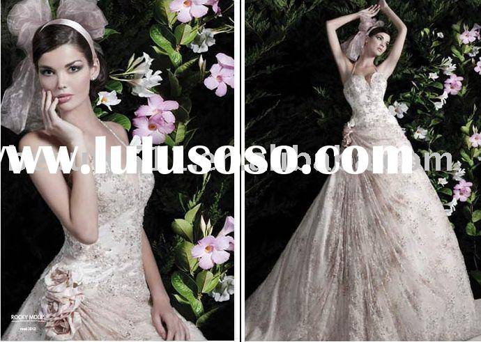 2011 New Style Unique Bridal Dress Wedding Gown CAC1119