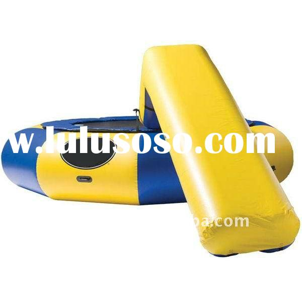 2011 new water game inflatable water trampoline
