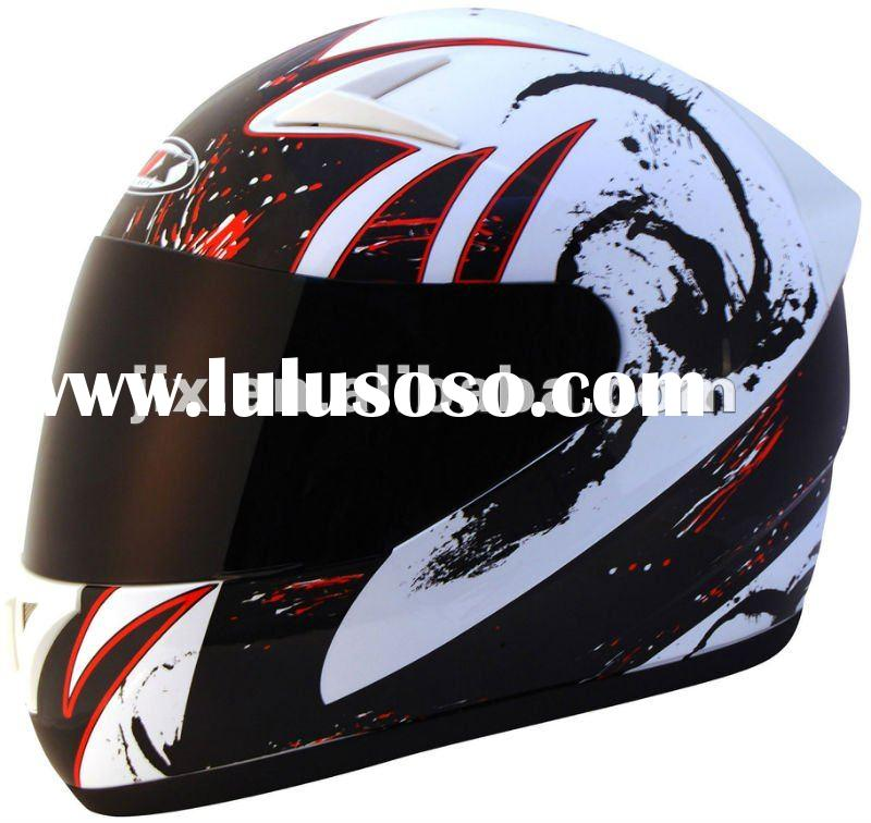 2012 DOT/ECE full face motorcycle Helmets JX-A5010