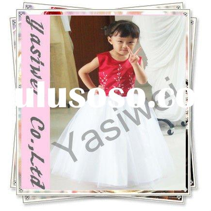 2012 Sweet Princess Beaded Flower Girl Dresses Children Dress Kid's Dress YSWFL001