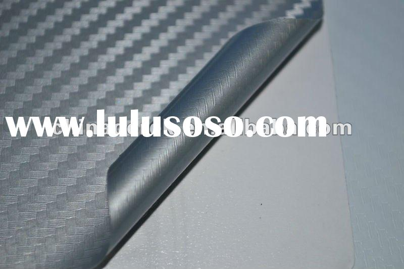 2012 TOP Quality!car sticker vinyl film 3D carbon fiber film QD1103 Silver -TR1 1.27mx30m