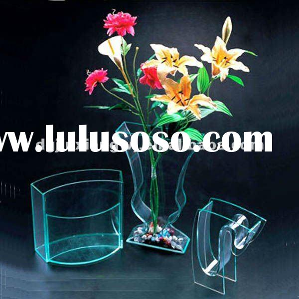 2012 exquisite&beautiful transparent acrylic flower vase