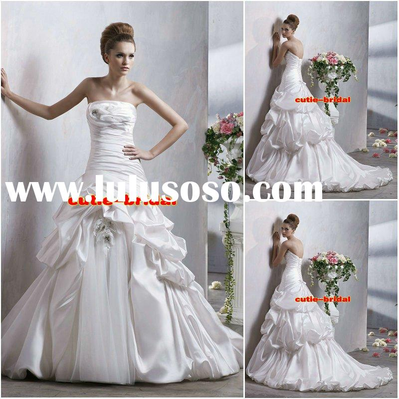 2012 new style wedding gowns bridal dresses designer wedding dresses A256