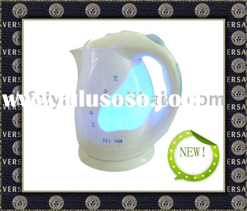 230V electric travel kettle with LED light
