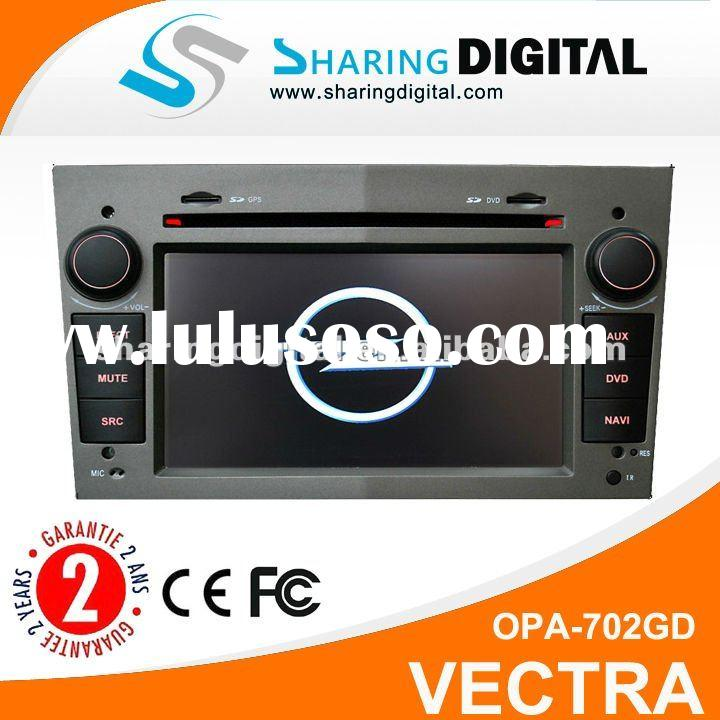 2 din DVD GPS for Opel Astra Zafira Vectra with internet picture in picture digital tv