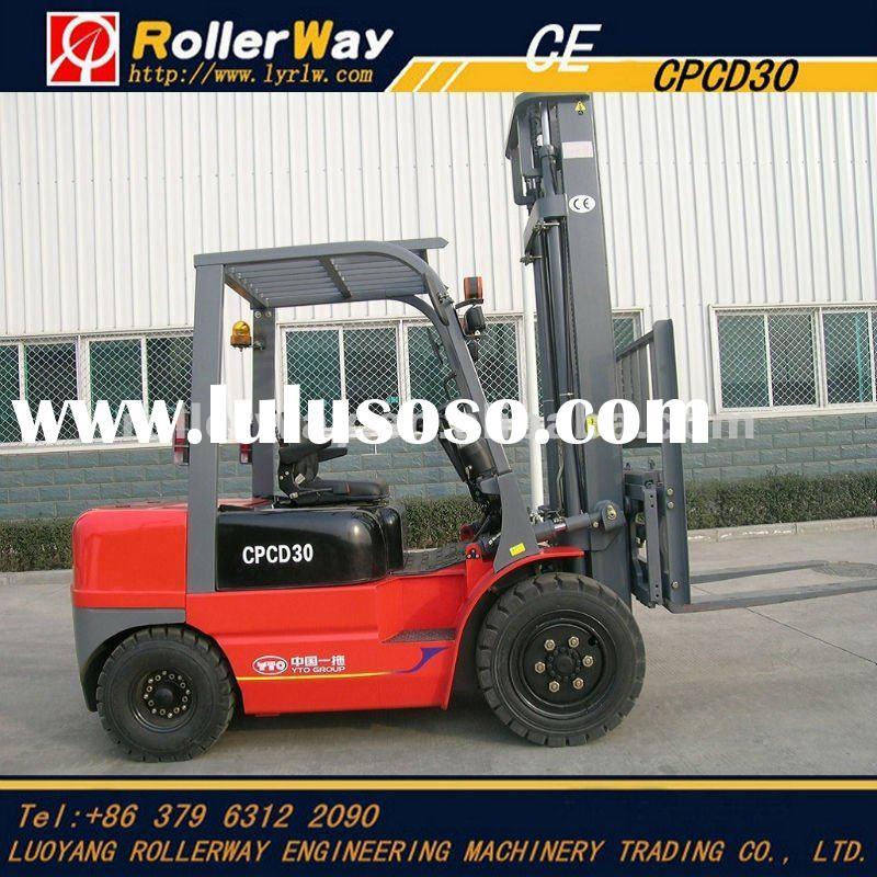 3 ton used forklift truck for sale