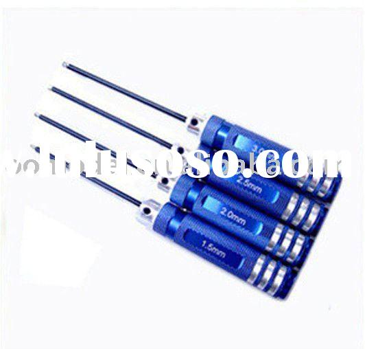 4pcs Hex Screw driver Tools Kit Set for RC Helicopter