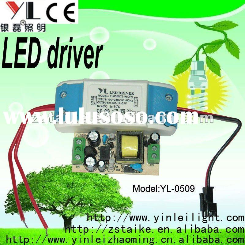 5~9W LED driver constant current 330mA