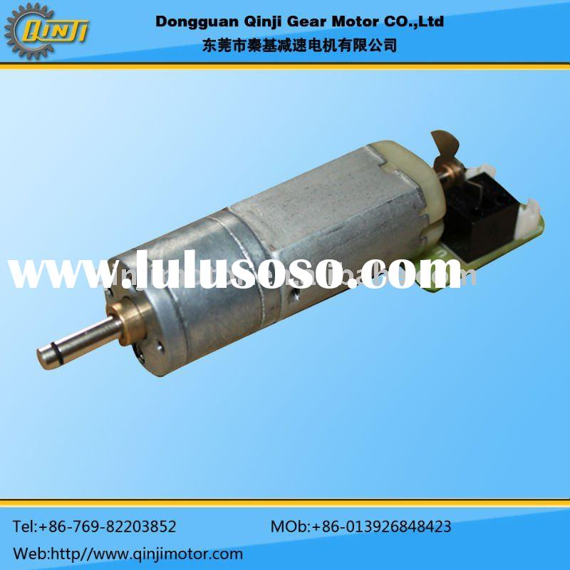6v 12v DC Gear Motor with 17.5mm gearbox/gear ratio 63~78