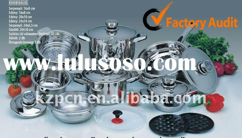 7layers bottom stainless steel cookware