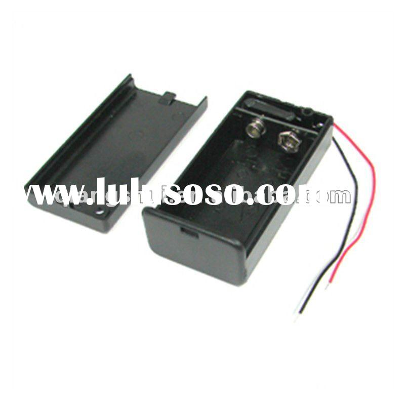 9V Sealed Battery Holder with Switch