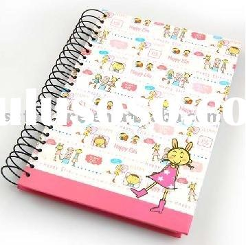 A4 notebook,spiral notebook,hard cover notebook