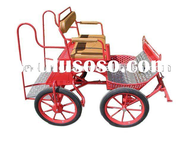 Amusive pony cart for miniature and shetland/marathon horse drawn carriage/sport horse and carriage