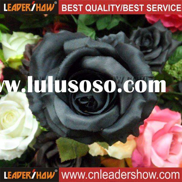 Artificial Single Black Rose Flower