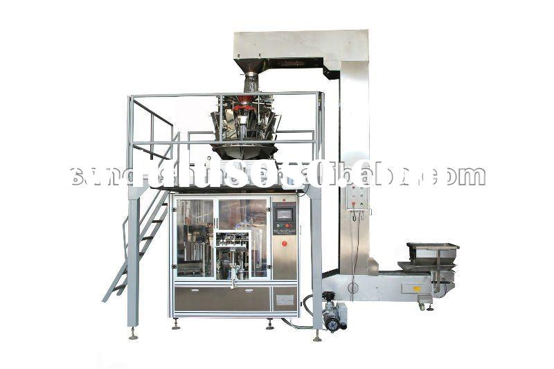 Automatic weighing bag packaging machine