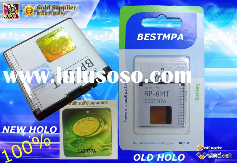 BP-6MT with packing products 100% new holo mobile phone Batteries for E51 N81 N82 original MOBILE ph