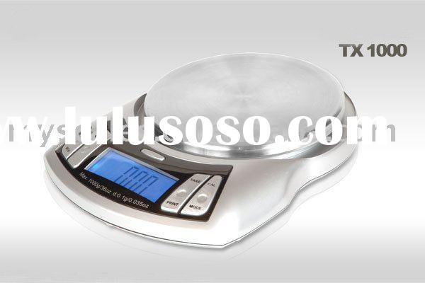 tcs electronic price platform scale user manual