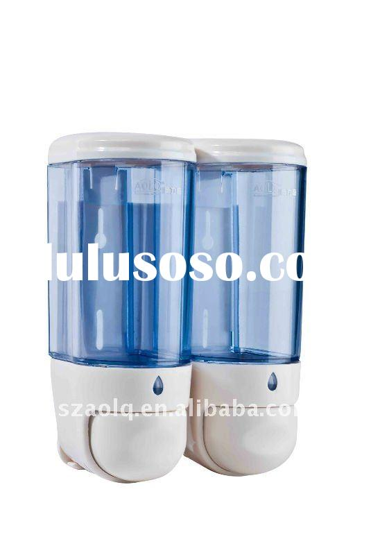 Bathroom double tank soap dispenser for shower
