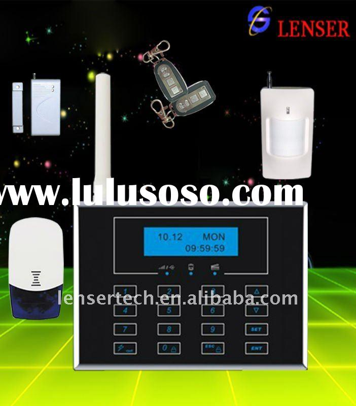 Best Touchpad GSM and PSTN dual network Wireless Alarm System Wireless