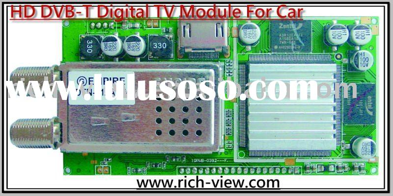 Car HD DVB-T mobile Digital TV Tuner Module
