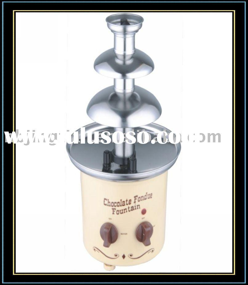Chocolate fondue Fountain/electric chocolate fondue fountain/chocolate fountain for home