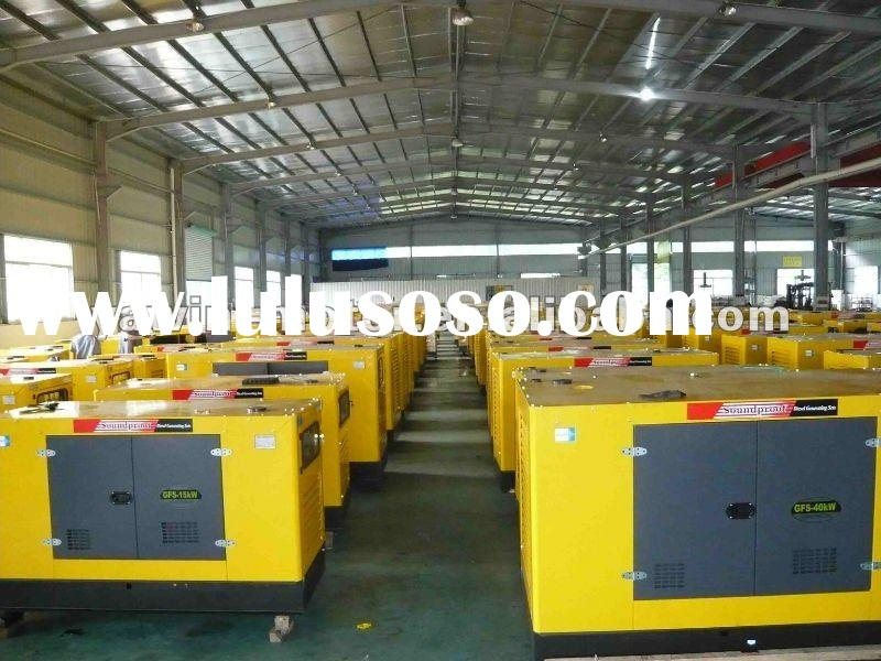Chongqing Cummins,Stamford alternator,three phase,water cooled,silent diesel generator set