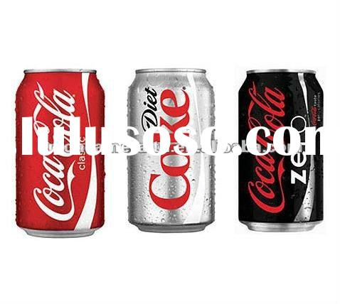 Coca Cola Classic 330ml cans made in USA