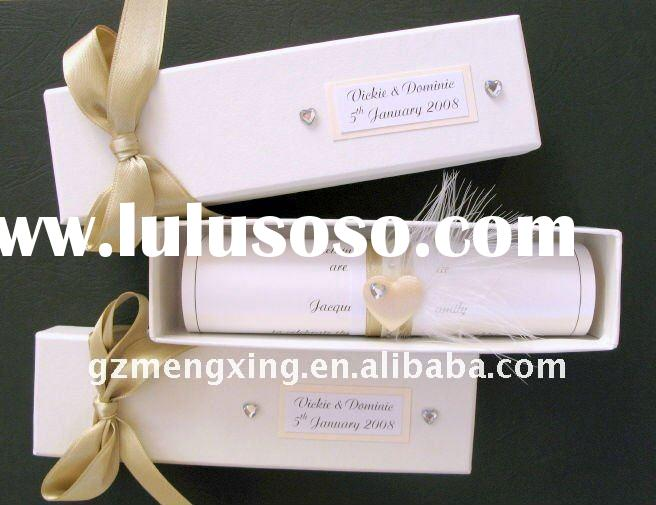 Diy Scroll Wedding Invitations: Islami Scroll Wedding Invitation, Islami Scroll Wedding