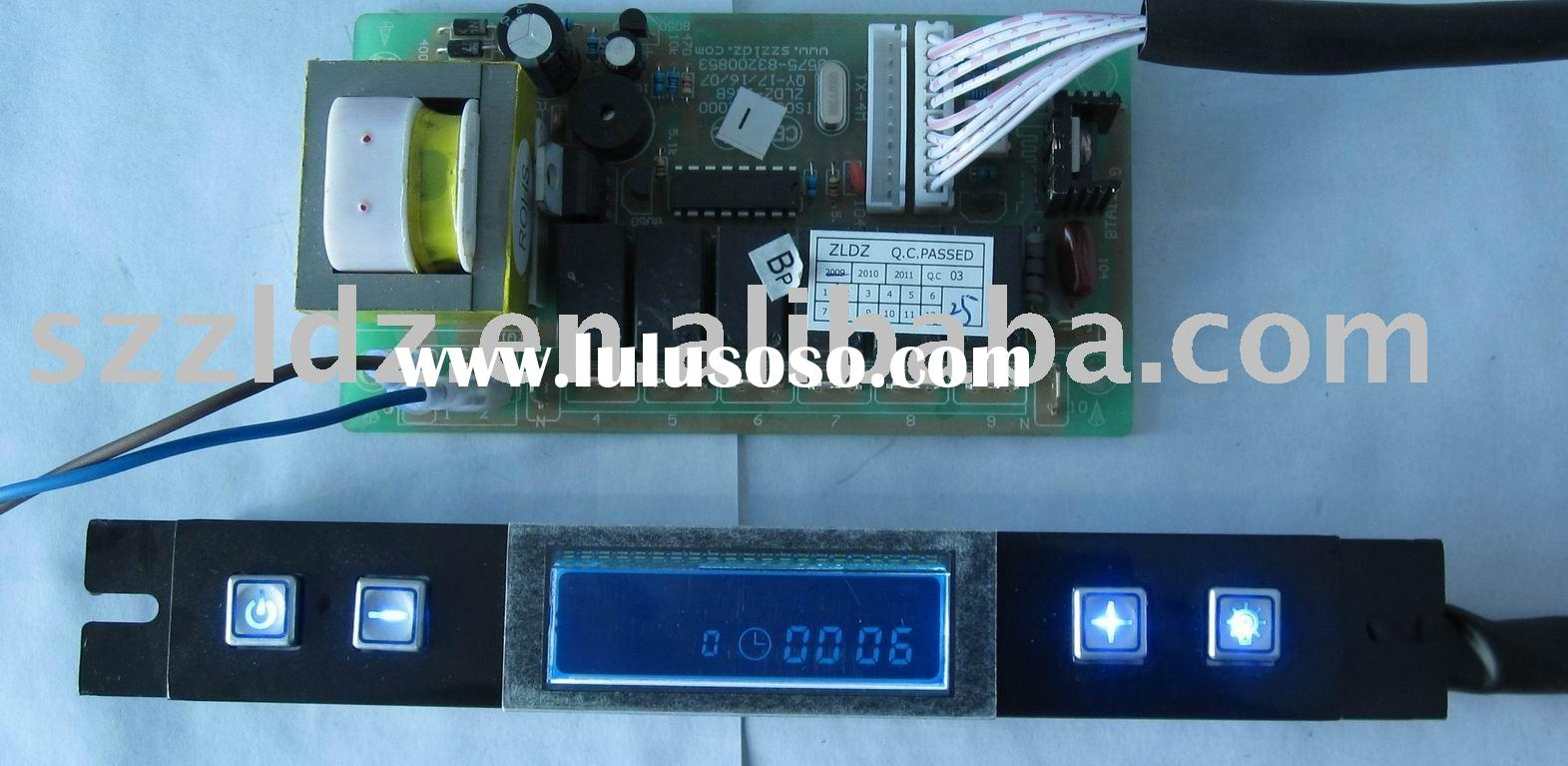 Electronic control board for kitchen appliance