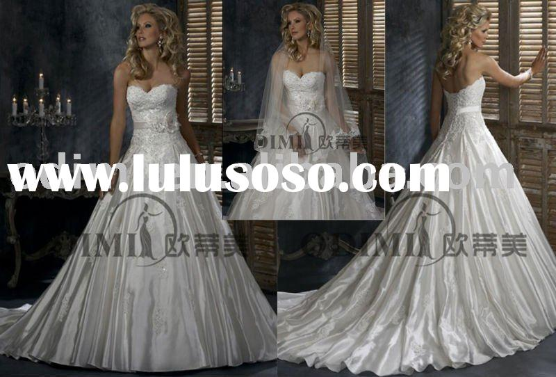 Elegant Ball Gown Bridal Wedding Dress