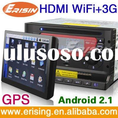 Erisin Anti-Theft Android Car DVD with 3G WiFi GPS Bluetooth Radio DVD P