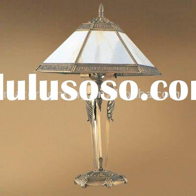 European style brass table lamp,brass desk lamp,reading light