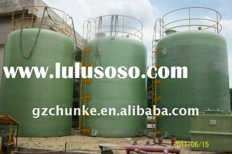 FRP resin water tank for water treatment, filters and softener water system