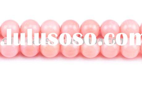 Fancy Pink Coral Beads