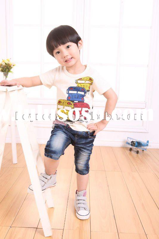 Fashion cheap plain white t-shirts for boys
