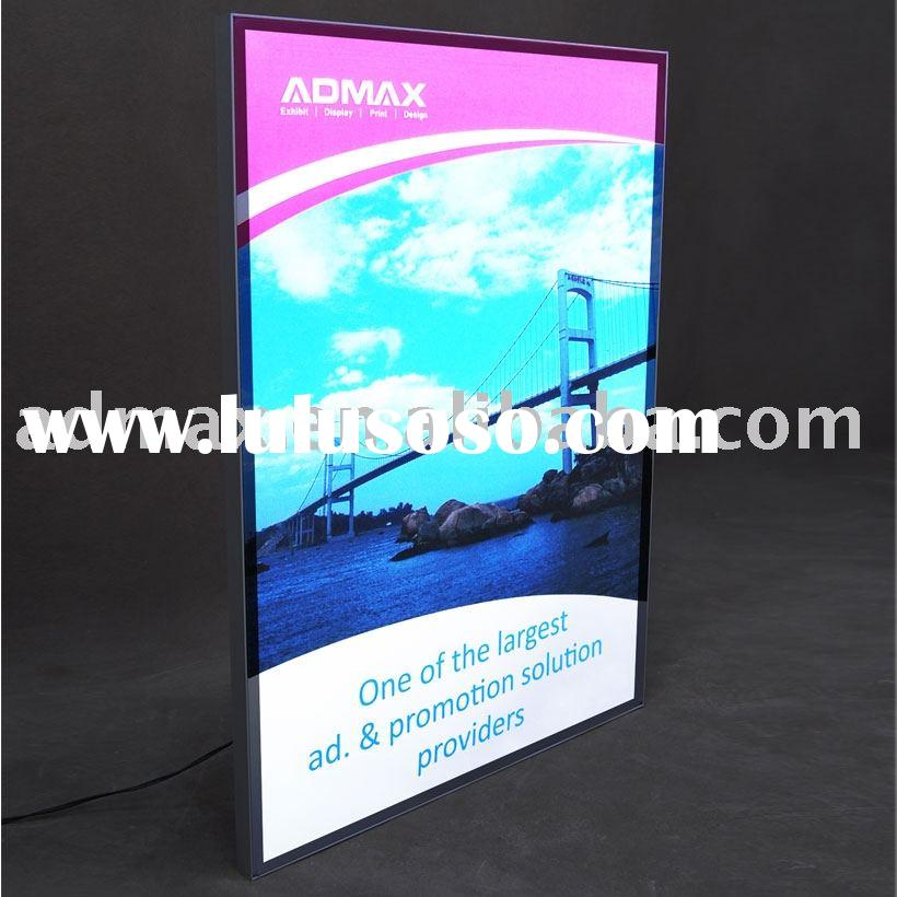 Frameless LED lite/Frameless/Framelesslite/Frameless Illuminated/Frameless display/Frameless Fabric