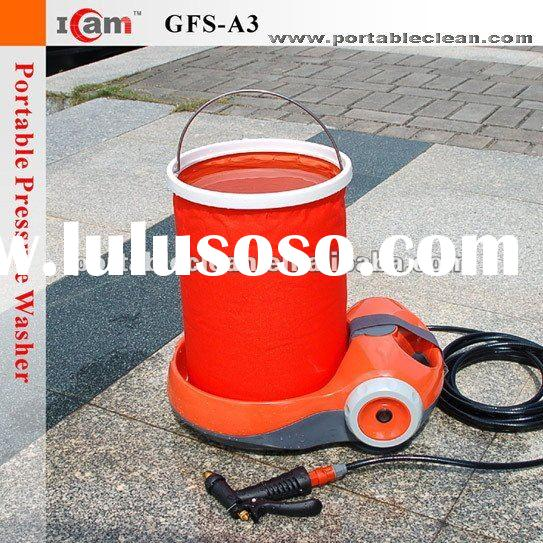 GFS-A3-60W portable car pressure washer with multifunctional spray gun