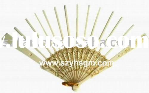Hand fan sticks