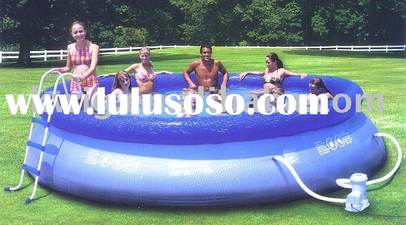 Inflatable swimming pool,metal swimming pool