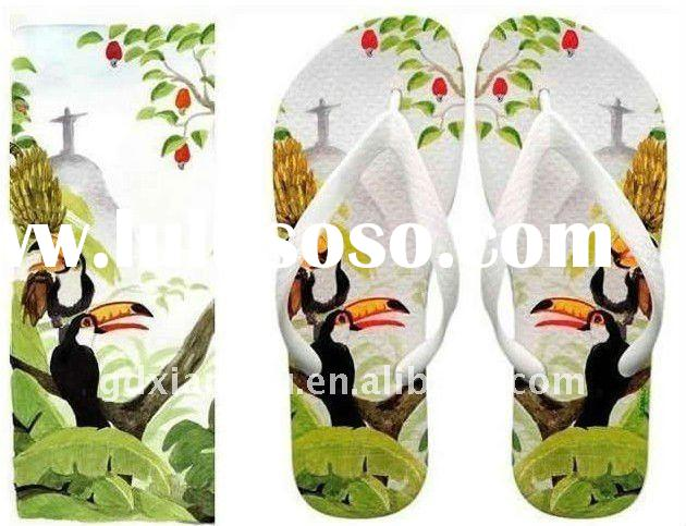 Inkjet Digital Printer for Eva Slippers shoes