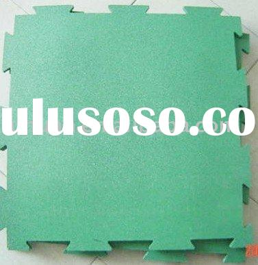Interlocking Rubber Tiles(interlocking mat)