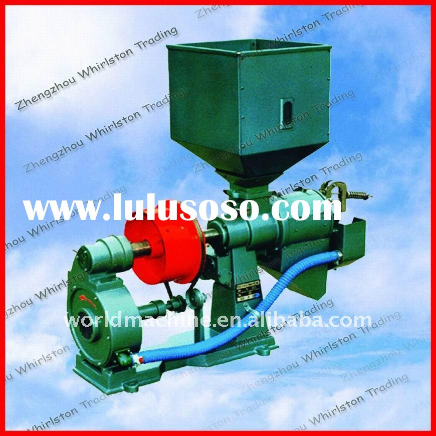 Low price rice milling machine