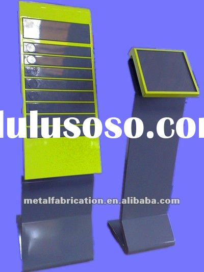 Metal Advertising Display Stand metro display stand