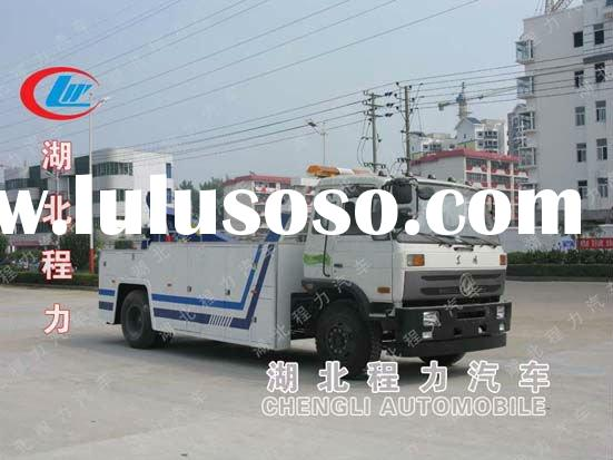 Middle custom tow truck road train truck for sale