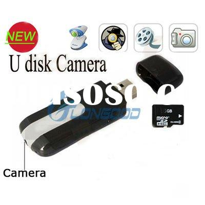 Mini Hidden DV DVR U8 USB Disk HD Video Camera